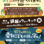【謎解きイベント】謎解きウォーキング~秋~ 愛知 2018年9月29日~12月16日