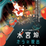 【リアル謎解きゲーム】「水宮城からの脱出~金魚の恩返し~」 2019年7月13日~9月23日